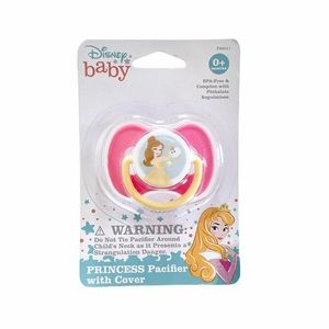 Disney Princess Baby Pacifier with Cover